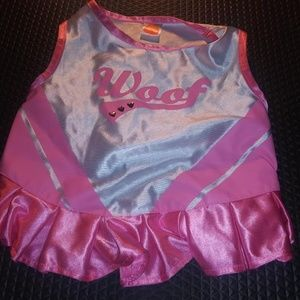 Dog Cheerleader Dress Costume Size M